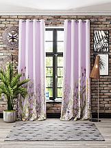 Комплект штор ТомДом Флоренси (розовый)