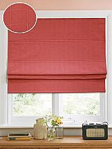 Римская штора ТомДом Амми (красный) - ширина 100 см.