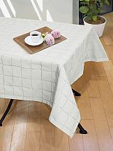 Скатерть ТомДом Нимеро-С (белый) скатерть protec textil alba кантри 140 160 см прямоугольная