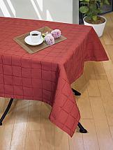 Скатерть ТомДом Нимеро-С (красный) скатерть protec textil alba кантри 140 160 см прямоугольная