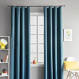 Комплект штор ТомДом Мерлин синий комплект штор томдом ритика