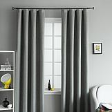 Комплект штор ТомДом Мерлин (темно-серый) комплект штор томдом ритика