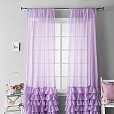 Комплект штор ТомДом Ноа (фиолетовый) комплект штор томдом ровена горчица