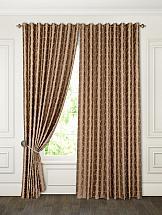 Комплект штор ТомДом Смил (коричневый) комплект штор томдом тинс коричневый