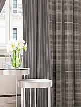 Комплект штор ТомДом Люсфильд (коричнево - серый) комплект штор томдом люсфильд серо коричневый
