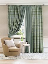 Комплект штор ТомДом Люсфильд (зеленый) цены