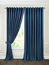 Фото - Комплект штор ТомДом Бруад (синий) комплект штор томдом бруад синий