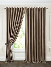 Комплект штор ТомДом Бруад (коричневый) комплект штор томдом карас мятно коричневый