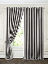 Фото - Комплект штор ТомДом Бруад (серый) комплект штор томдом бруад синий