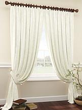 Комплект штор ТомДом Тризи (белый) шторы для комнаты tomdom комплект штор тризи бежевый