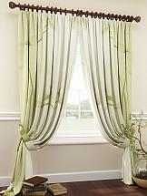 Комплект штор ТомДом Мериаль (зеленый) комплект штор томдом оркин зеленый