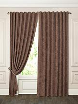Комплект штор ТомДом Барути (коричневый) портьеры ранди коричневый