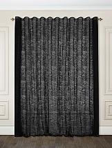 Фото - Тюль ТомДом Клеонис (черный) тюль томдом ларези черный