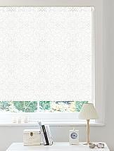 Рулонная штора ТомДом Пурия (белый) шторы рулонные ролло идея рулонная штора ролло lux samba цветы зеленый оранжевый желтый 160 см