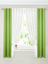 Комплект штор ТомДом Терей (зеленый) комплект штор томдом клэнтон зеленый