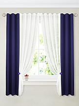 Комплект штор ТомДом Терей (синий)