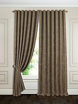 Комплект штор ТомДом Плаут (коричневый) портьеры ранди коричневый