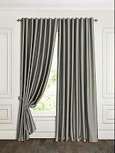 Комплект штор ТомДом Тревизо (серый) шторы для комнаты blackout комплект штор блэкаут софт b531 2 морская волна 200 270 см