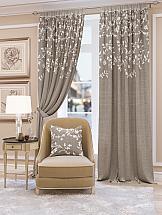 Комплект штор ТомДом Кайнди. Подшит: 250 см комплект штор haft цвет стальной высота 250 см 28890 250