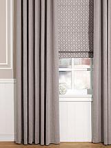 Комплект штор ТомДом Рамбус (серо-коричневый)