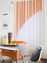 Тюль ТомДом Лиона (оранжевая)