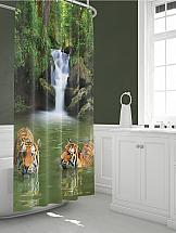 Шторы для ванной ТомДом Тайрис шторы томдом фотошторы золотое поле