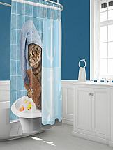 Шторы для ванной ТомДом Вордол шторы томдом фотошторы золотое поле