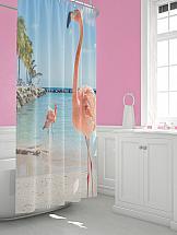 Шторы для ванной ТомДом Бредор шторы томдом фотошторы золотое поле