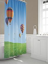 Шторы для ванной ТомДом Балур шторы и карнизы для ванной fototende шторы для ванной yvette 145х180