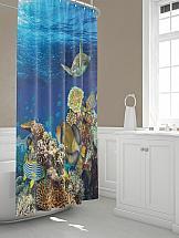 Шторы для ванной ТомДом Черши шторы томдом фотошторы золотое поле
