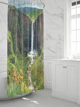 Шторы для ванной ТомДом Фолито шторы томдом фотошторы золотое поле
