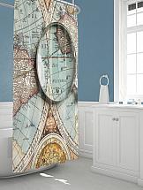 Штора для ванной ТомДом Мэпи