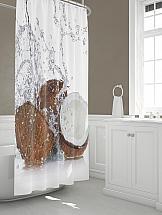 Штора для ванной ТомДом Коукон мыльница wasserkraft wern k 2529 хром матовое стекло