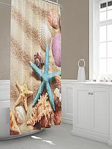 Шторы для ванной ТомДом Коубри шторы томдом фотошторы золотое поле