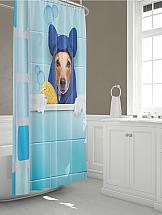 Шторы для ванной ТомДом Томфи шторы томдом фотошторы золотое поле