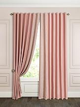 Комплект штор ТомДом Флейт (пыльная роза). Подшит: 250 см комплект штор haft цвет стальной высота 250 см 28890 250