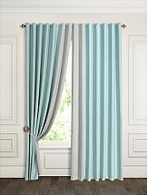 Комплект штор ТомДом Флейт (голубой) комплект штор томдом сарада золотой с подхватами