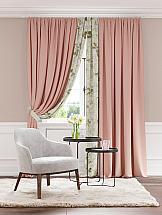 Комплект штор ТомДом Арихэл (розовый) комплект штор томдом арихэл розовый
