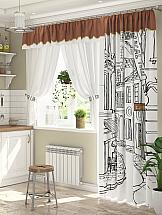 Комплект штор ТомДом Ловирис 2 шторы без рисунка шторы для комнаты tomdom комплект штор тризи бежевый
