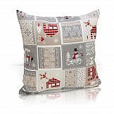 Декоративная подушка ТомДом Подушка Санти декоративная подушка томдом подушка хиос голуб