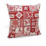 Декоративная подушка ТомДом Подушка Тиролия декоративная подушка томдом подушка хиос голуб