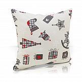Декоративная подушка ТомДом Подушка Бэлсик декоративная подушка томдом подушка хиос голуб