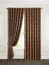 Комплект штор ТомДом Домели (коричневый)