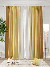 Комплект штор ТомДом Ланджит (желтый)