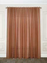 Тюль ТомДом Берис (коричневый)