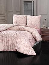 Фото - Постельное белье ТомДом Нова (розовый) постельное белье этель кружева комплект 2 спальный поплин 2670978