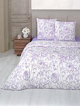 Фото - Постельное белье ТомДом Розалин (сирень) постельное белье этель кружева комплект 2 спальный поплин 2670978