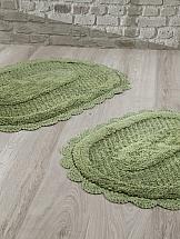 Коврик для ванной ТомДом Локал (зеленый)
