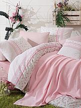 Постельное белье ТомДом Сабрина (розовый)