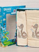 Комплект полотенец ТомДом Тикири (песочный) полотенца подушкино полотенце вита цвет голубой 50х90 см 70х140 см
